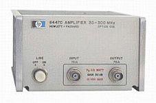 HP/AGILENT 8447C/2 AMPLIFIER, 30-300 MHZ, -15 DBM, OPT. 2, 75 OHM